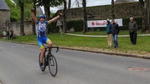Victoire de Guy De Gouville lors du Tour d'île de France FSGT