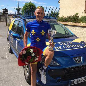 Éric Desbois champion idf