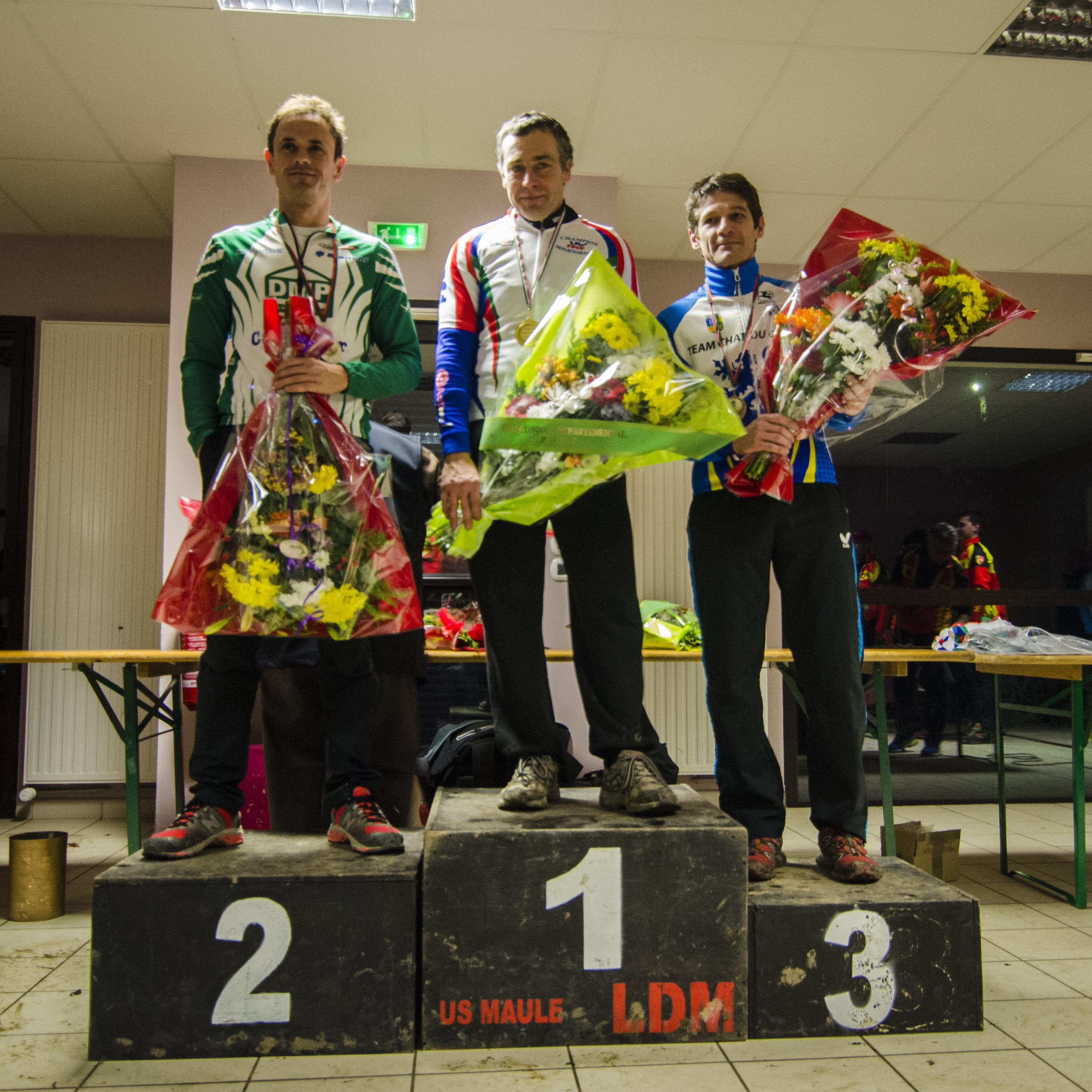 CX - Septeuil 2017 - Podium