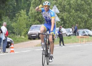 Quentin Tougard en vainqueur.