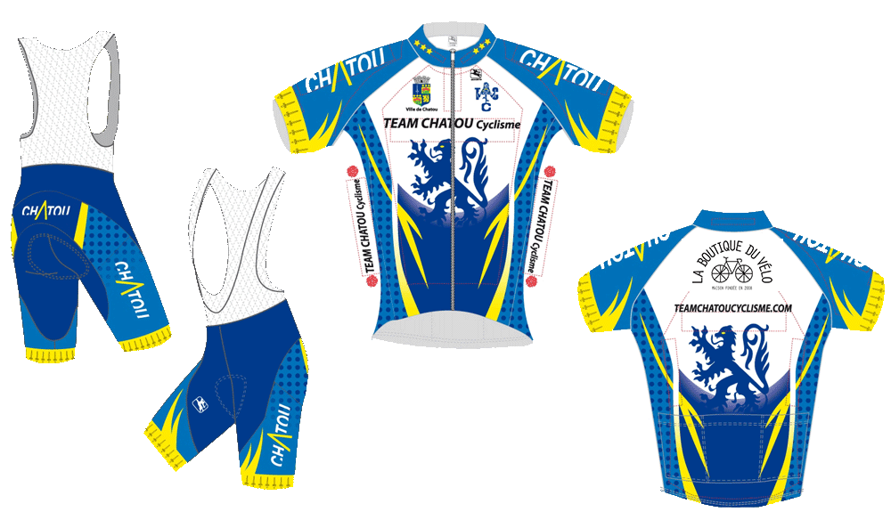Maillot Team Chatou Cyclisme